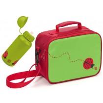 Zestaw lunch box + butelka dla dzieci Iris Snack Rico