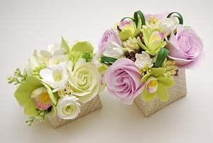 kwiatowe opakowanie na prezent