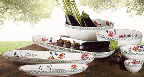 porcelana Artesano Provencal Verdure